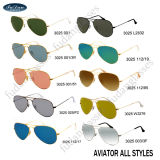 Brand Name Sunglasses Customized OEM High Quality (R-B-3025)