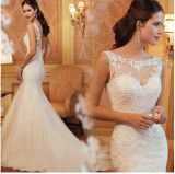2016 Promotion Evening Party Prom Bridal Wedding Dress (ALSW001)