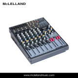 12- Input 2/2-Bus Mixer with Mic Preamps, Eqs, 24-Bit Multi-Fx Processor /Audio Interface (LM-8FX)