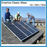 Ultra Clear Low Iron Patterned Solar Panel Glass