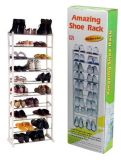 10 Tier Plastic Shoe Rack (TV432)