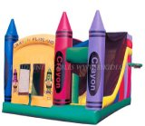 Inflatable Bouncers, Bounce Houses Crayon for Party Events