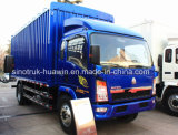 Sinotruk HOWO Light Duty Truck with Van Box