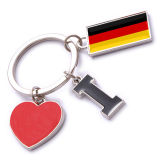 New Custom Metal Souvenir Germany Keyring