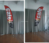 Fabric Customed Promotional National Advertising Beach Advertising Flag