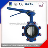 Industrial Lug Type Flange Butterfly Valve