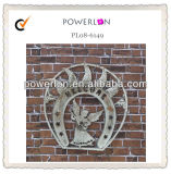 Shabby Chic Decorative Wrought Iron Wall Art