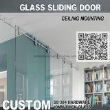 Europe Stylish Office Glass Sliding Barn Door