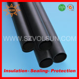 Black Thick Walled Heat Shrink Tubing with Glue