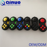New Design Beautiful Appearance Colorful Fidget Spinner Game Handle