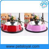 Factory Pet Dog Feeder Cheap Stainless Steel Pet Bowl