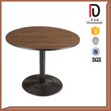 Metal Folding Square Round Restaurant Banquet MDF Coffee Table (BR-T080)