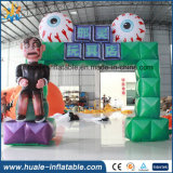 Horrible Halloween Event Ghost Inflatable Arch with Good Price