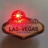 Custom LED Light Pin Badges with Logo Printed (3569)