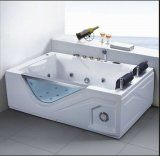 1900mm Rectangle Jacuzzi with Ce and RoHS for 2 Persons (AT-0729)