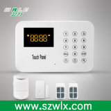 Touch Keypad PSTN Intelligent Home Security Alarm Control Panel