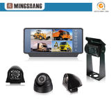 7inch Quad Mirror Monitor Rearview Camera Reversing Aid Security System