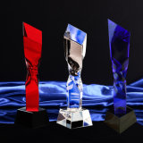 Crystal Glass Trophy Craft for Christmas Gift