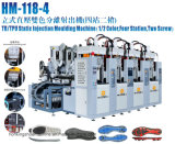 TPU. PVC. TR 2/4 Station 2 Screw Soles Making Machine