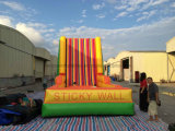 Inflatable Climbing Stickey Climbing Wall Game, Inflatable Sticky Wall