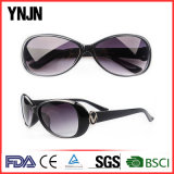 Promotional Women Custom Logo UV400 Vintage Sunglasses Retro (YJ-S054)