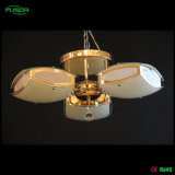 Modern Style Square Glass Chandelier Light for Ceiling