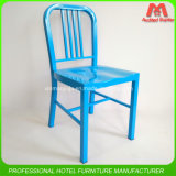 Competitive Price Blue Metal Navy Bar Chair