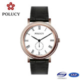 Genuine Leather Strap High Quality Ladies Wrist Watches