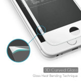 3D Curved Edge Design Etched Tempered Glass Screen Protector for iPhone7