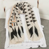 Fashion Polyester Scarf with Classical Diamond Design (HP03)