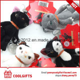 High Quality Mini Stuffed Cat Plush Toy Animal Keychain, Keyring