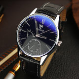 314 Classical Yazole Watch Cheap Price Watch for Men with Blue Glass Design