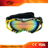 Motorcycle off-Road Racing Goggles Winter Skate Sled ATV Eyewear Motocross Dh MTB Glasses Single Lens Clears