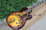 Thick Hollow Body L5 Jazz Electric Guitar Tobacco Burst (TJ-269)