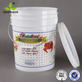 20L Airtight Watertight Plastic Pail Bucket with Tamper Proof Lid
