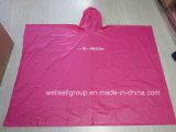 Fashion Design PVC Kids Rain Coat with Polybag to Carry