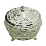 Zinc Alloy Diamond Jewelry Storage Box