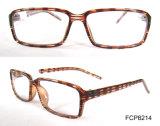 Rectangle Brown Stripe Cp Injection Eyewear
