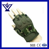 Camouflage Half-Finger Police Tactical Glove (SYPG-888)