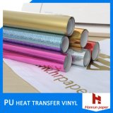 Glitter/Self-Adhesive Reflex Heat Transfer Vinyl Film for Sportswear/Garment