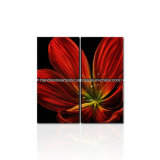 Flower Design 3D Metal Wall Arts for Decoration / Gift