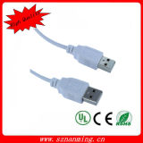 USB 2.0 Type a Male to a Male Cable Wihte