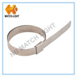Ss201 Center Punch Stainless Hose Clamps for Water Hose