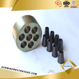 Multi Hole Anchorage and Wedge for 15.24mm Steel Strand