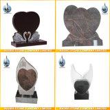 Custom Design Headstone Heart Shaped