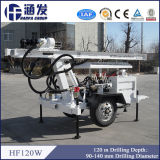 High Efficiency Hf120W Trailer Water Well Drilling Machines
