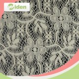 Bridal Cotton and Nylon White Tricot Mesh Lace Fabric