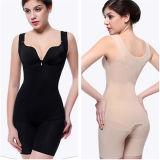 Women Shaper Underwear Seamless Bamboo Slimming Bodysuit (53076)