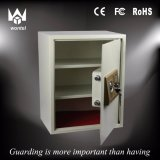 50ea White /Grey Color Safe Box for School Dormitory and Students with Partition Plate