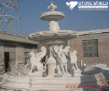 Granite / Marble Garden Water Stone Fountain for Outdoor